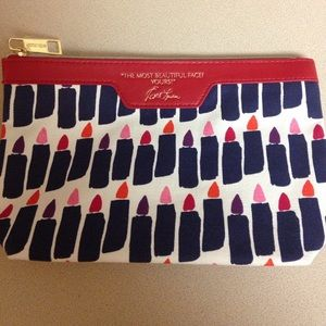 """The most beautiful dads? Yours"" makeup clutch NEW"